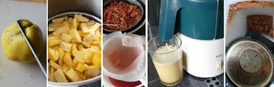 Zubereitung Quittensaft auf zwei Arten