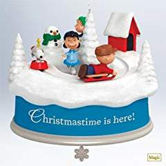 Christmastime is Here! The Peanuts Gang Hallmark Keepsake Ornament 2011 #christmastimeishere #christmasmusic #learnyourchristmascarols #christmasornament #christmascollectible available on Amazon