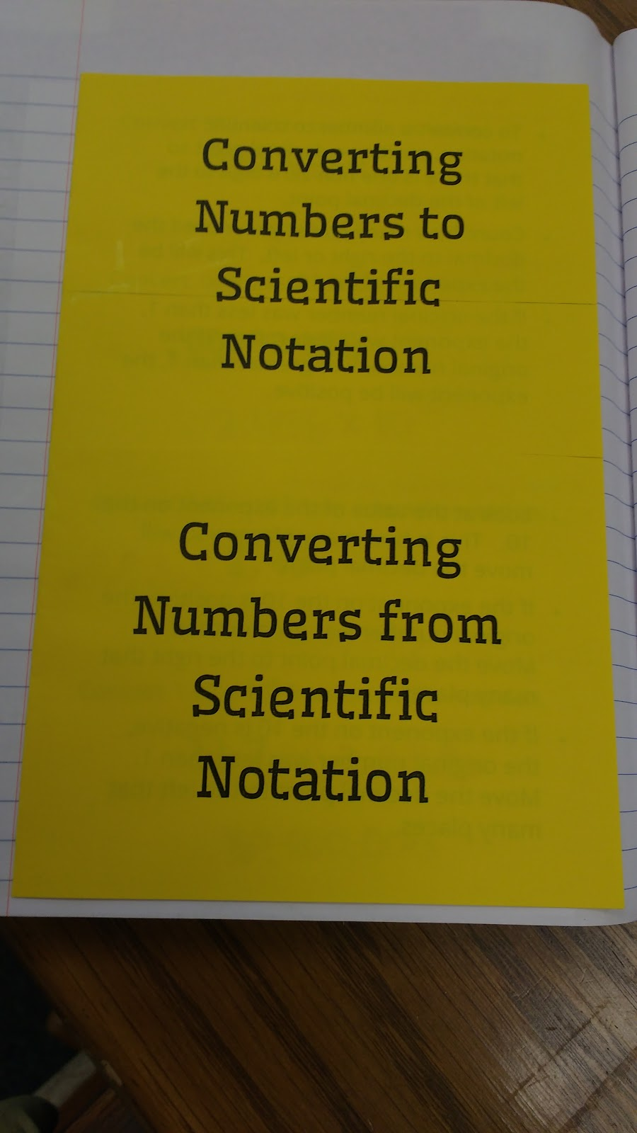 Math love scientific notation inb pages then we completed a foldable on converting to and from scientific notation falaconquin
