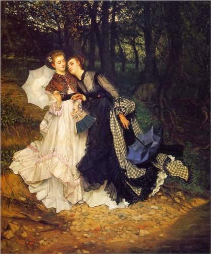 A Confiança - As principais pinturas de James Tissot ~ Francês