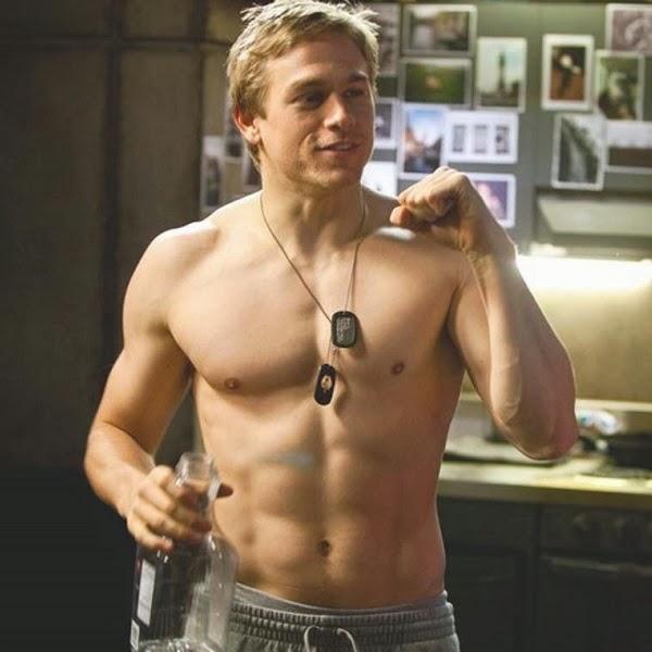 Charlie hunnam topless