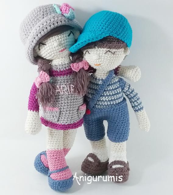 Anni y Ander By anigurumis