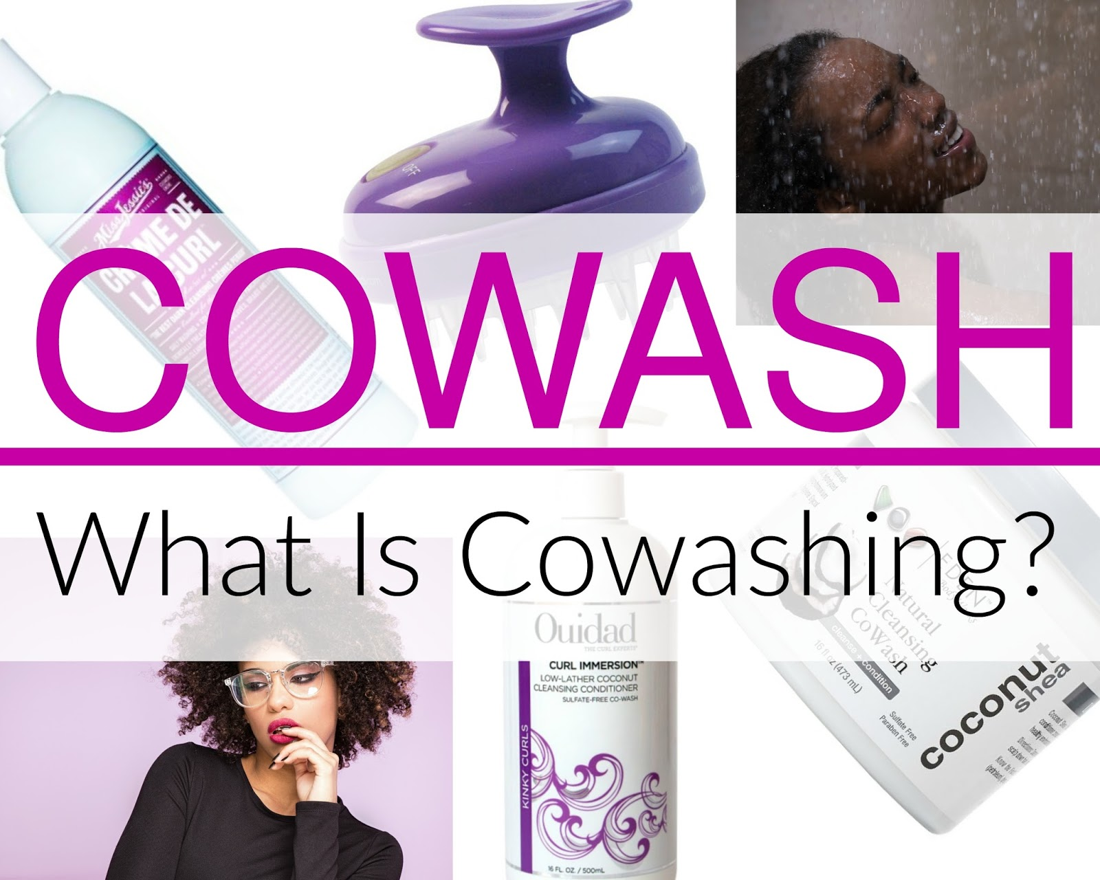 Click here to buy CREME OF NATURE ARGAN OIL CURLICOUS COWASH, a great cowash for natural hair!