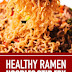 Healthy Ramen Noodles Stir Fry #ramen #noodles