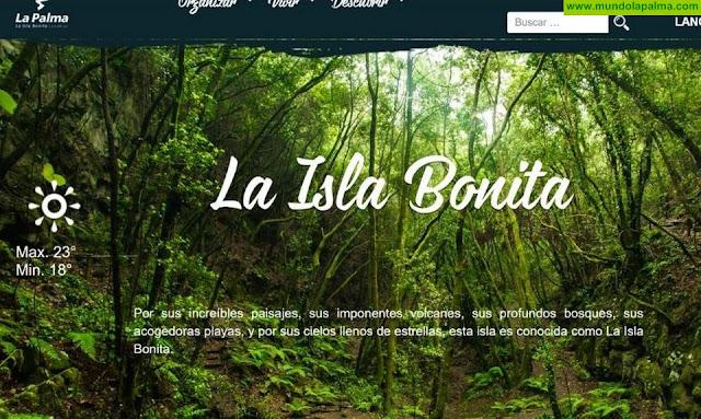 Una auditoría destaca la promoción 'on line' que Turismo La Palma realiza de 'La Isla Bonita' y la valora mejor que la de otros destinos