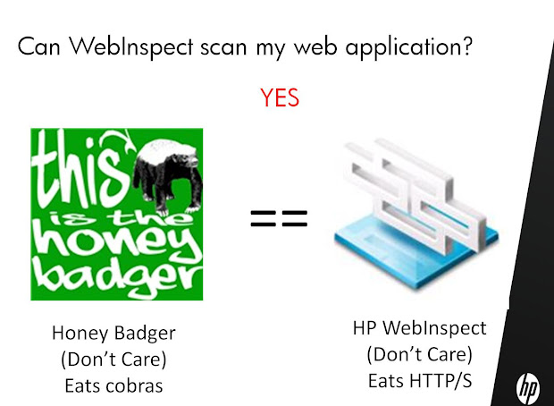 Information Amplifier Webinspect Honey Badger - Year of