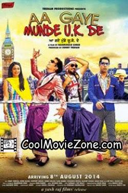 Aa Gaye Munde U.K. De (2014) Punjabi Movie