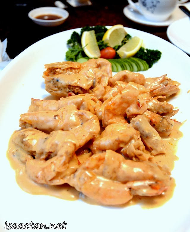#4 Fried Prawn with Butter Sauce