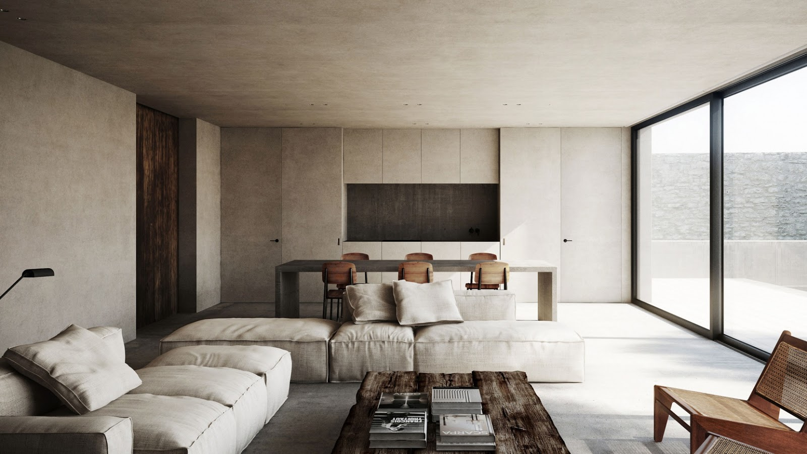Amm blog a minimalist escape in france by nicholas for Minimalist house blog