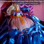 DIY - Passo a Passo - Faça Uma Cama Para Decorar a Casa da Barbie
