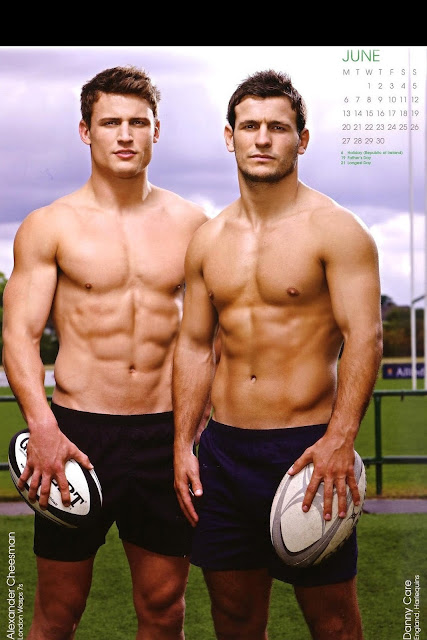 'Rugby's Finest' - 2011 • Alex Cheesman and Danny Care • Rugby Union Players
