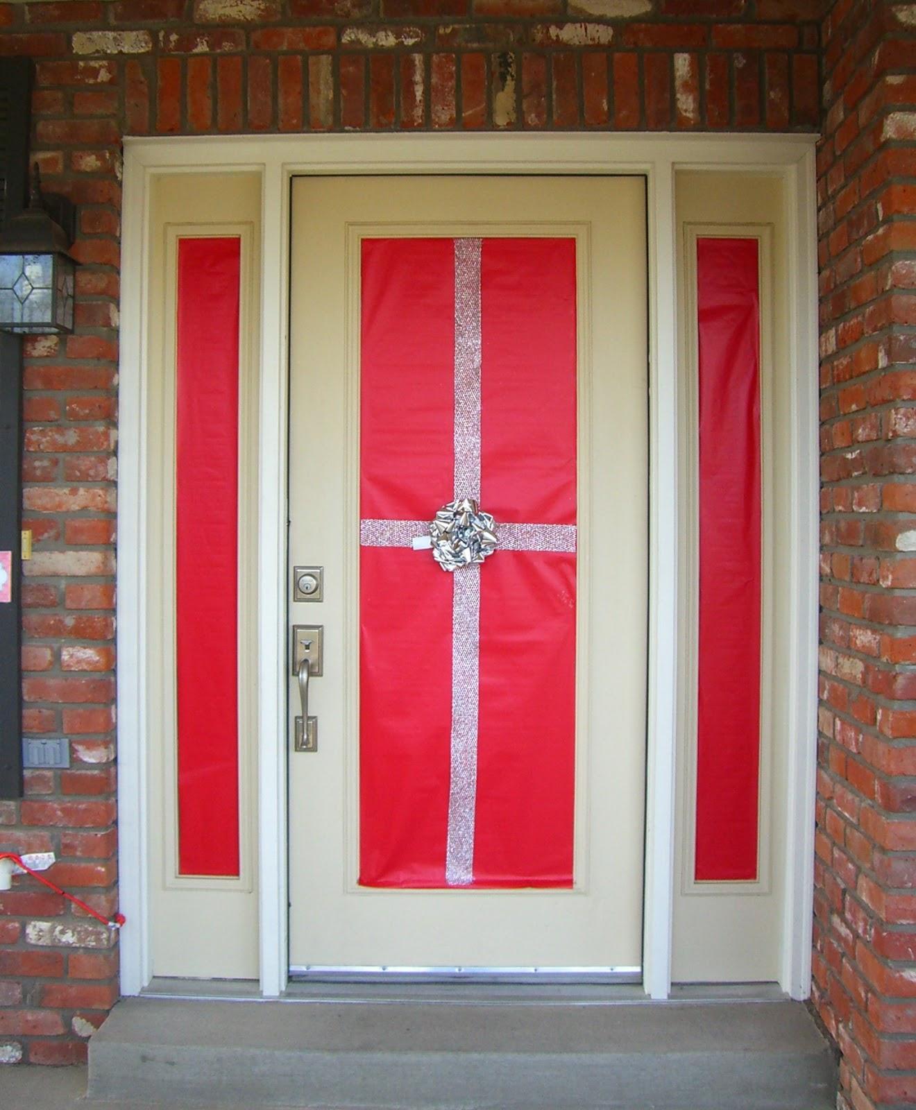 Door Decors: Home Confetti: Holiday Front Door Decor