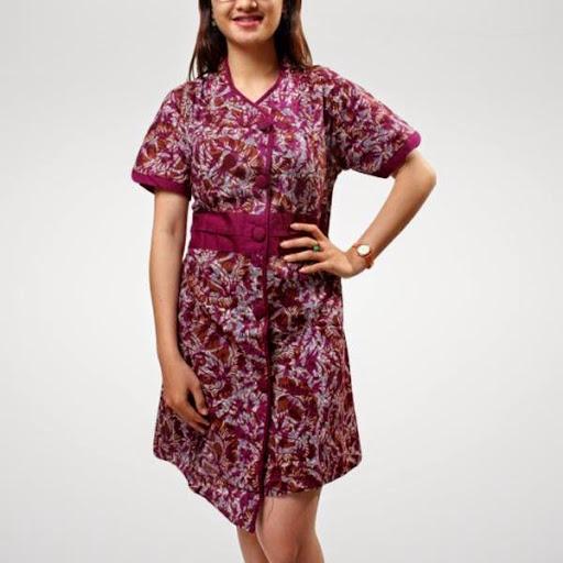 Contoh Gambar Baju Batik Modern: Contoh Baju Hamil Pesta Batik Modern Terbaru 2016/2017