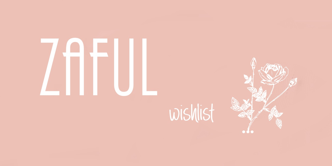 WISHLIST from ZAFUL