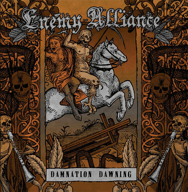"Enemy Alliance stream new album ""Damnation Dawning"""