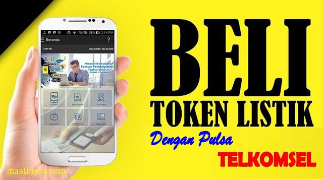 Cara membeli TOKEN Listrik dengan Pulsa Telkomsel
