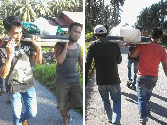 Viral! Alasan Kunci Ambulance Hilang, Jenazah Ditandu 7 Kilometer di Nias