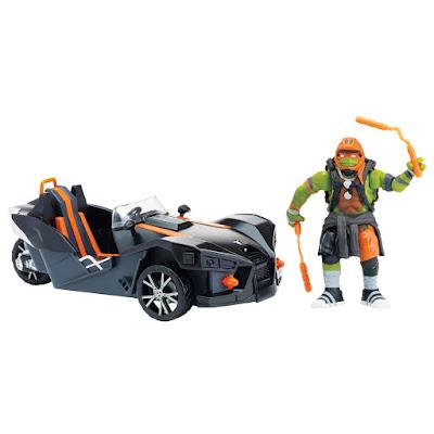 TOYS : JUGUETES - NINJA TURTLES 2   Polaris Slingshot : Vehículo  PELICULA Tortugas Ninja 2016 | Fuera de las Sombras  A partir de 4 años  Comprar en Amazon España & buy Amazon USA