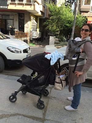 Boba 4G Kanguru ile kucak delisi bebe taşımak | Bebek Bakım Bilgileri 4