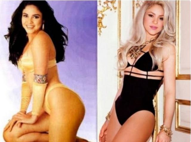 Mira a Shakira cuando ganó el Mejor Trasero de Colombia