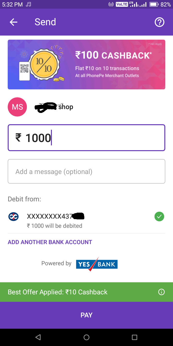 [Daily] Amazon Scan And Pay Offer - Win Upto ₹100 Cashback