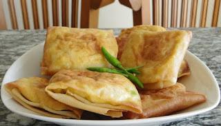 Resep dan Cara Membuat Martabak Telur Mini Sederhana Tanpa Daging