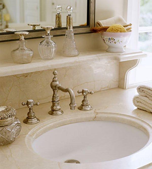 Sink Shelves Bathroom: Decorative Shelf For Above Bathroom Sink / Bath Ideas