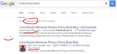 Cara Buat Privacy Policy dan Cara Pasangnya di Blog