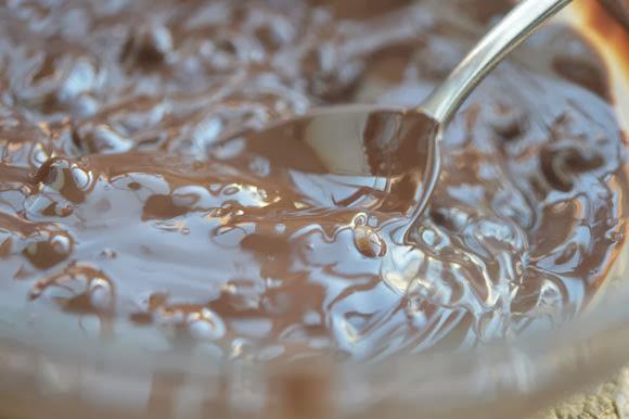Tempereren van chocolade