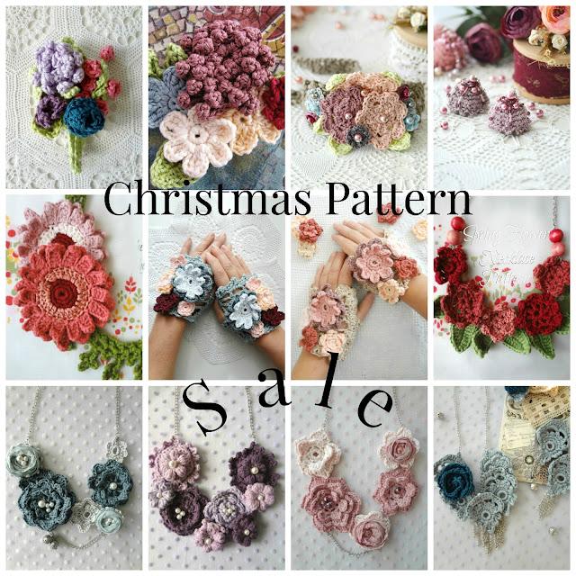 Christmas Crochet Patterns Sale