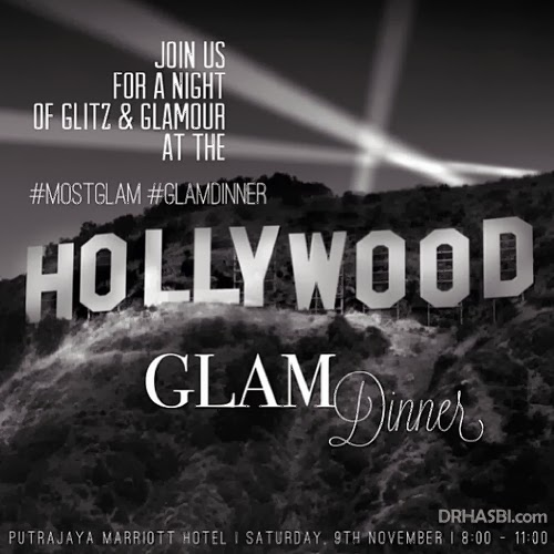 Hollywood GLAM Dinner at JW Marriott Hotel