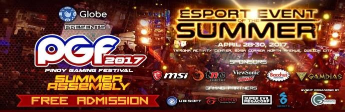 Pinoy Gaming Festival 2017