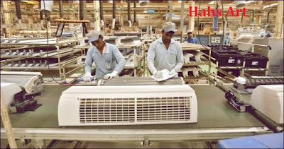 Manufacturing Of Air Conditioner