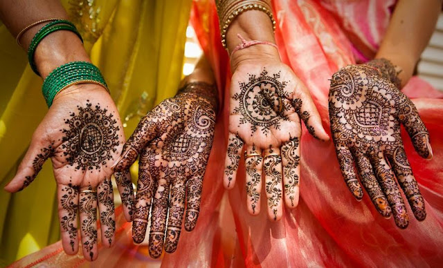 Karva Chauth Mehndi Designs For Fingers