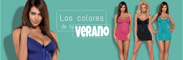 colección blackardi de sensualite, los colores de tu verano