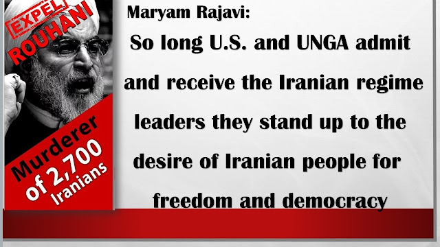 NEW YORK RALLY,MARYAM RAJAVI'S MESSAGE
