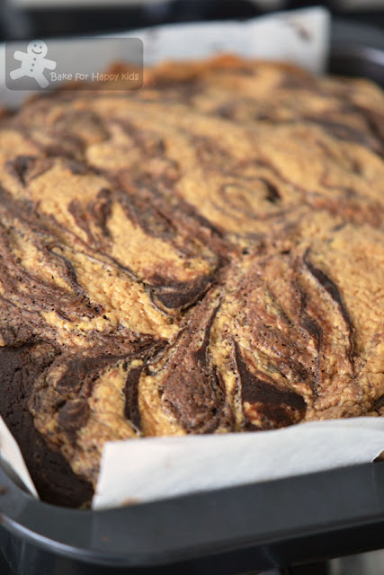 peanut butter swirl brownies Martha Stewart