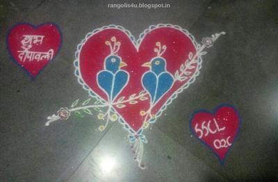 Creative Diwali Rangolis