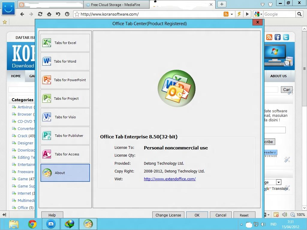 Image result for office tab crack