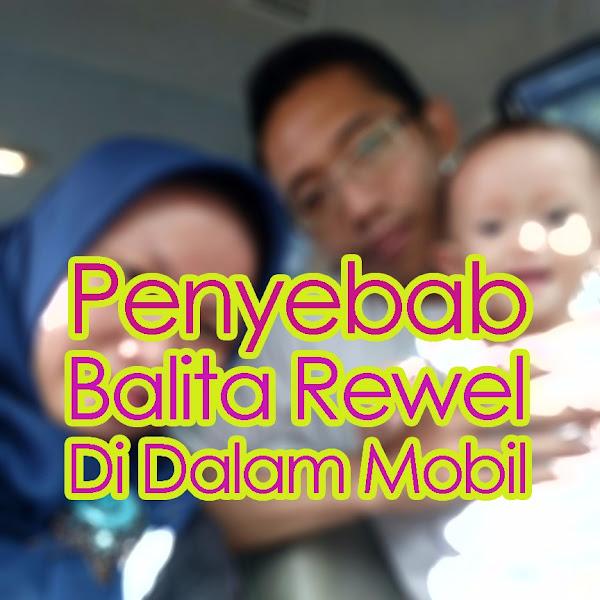 Penyebab Balita Rewel Di Dalam Mobil