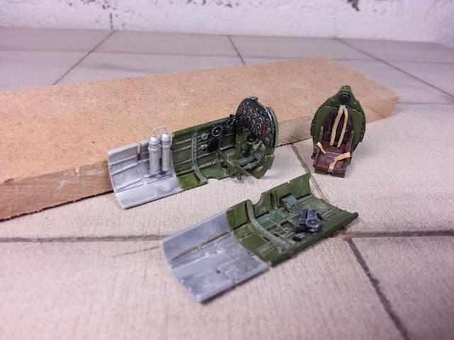 Poste de pilotage du Spitfire MkI
