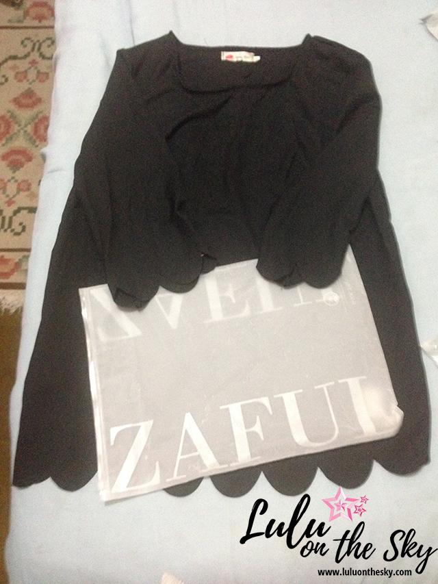 Recebidos Zaful