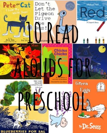 10 Read Alouds for Preschool
