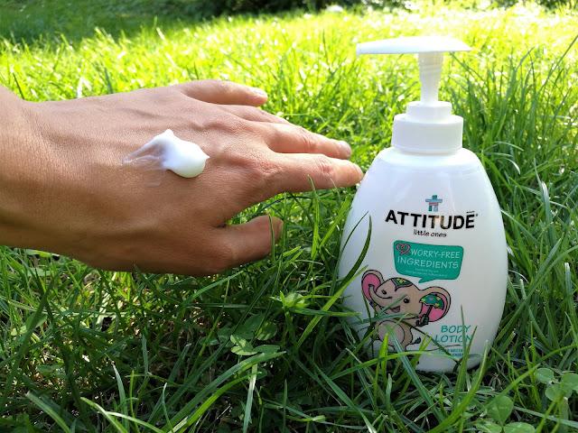 ATTITUDE tělové mléko recenze mujfialovysvet blog