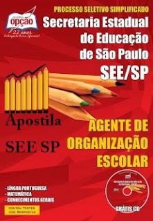 Apostila SEE/SP Agente Escolar - Governo de São Paulo (SP)