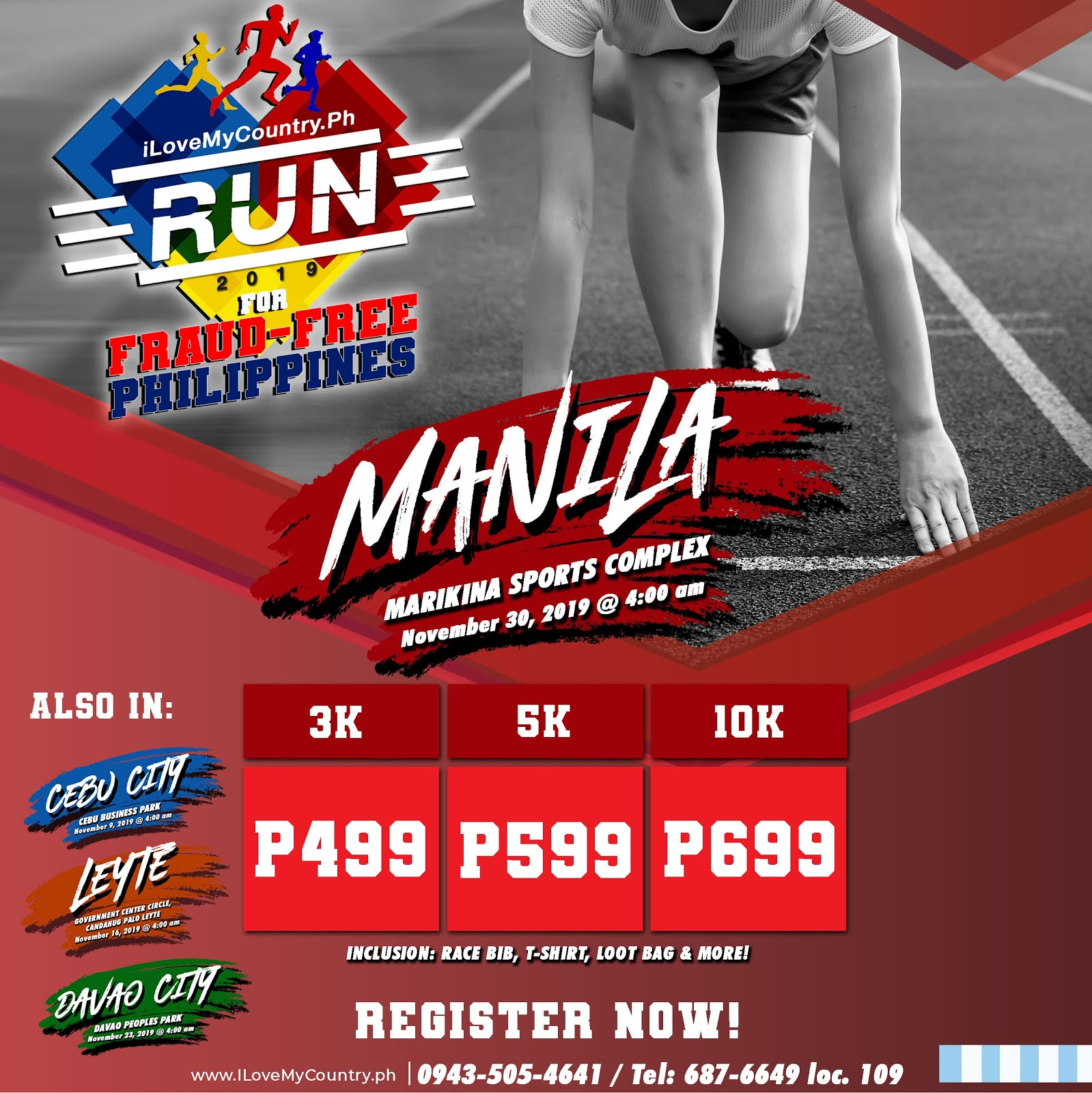 iLoveMyCountry.Ph RUN 2019 for FRAUD-FREE PHILIPPINES