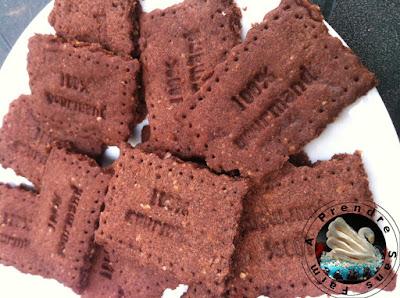 Biscuits sablés au chocolat