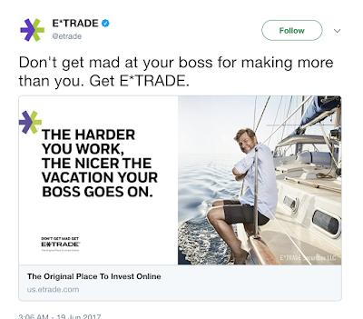 E*Trade advert...