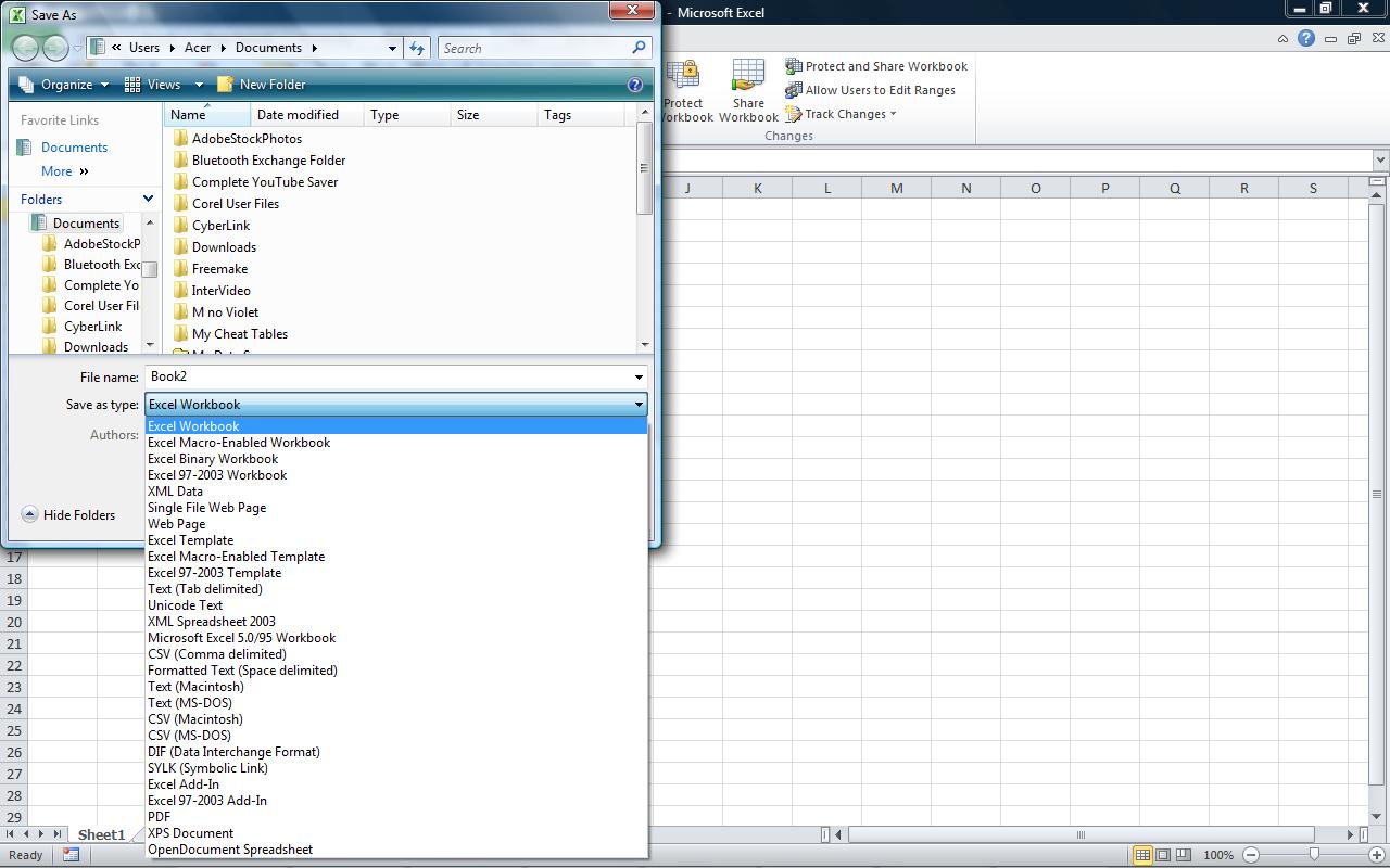 Membuat Workbook Dan Memberi Identitas Document Properties