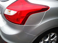 2012 Ford Focus SEL gas door